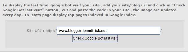 Googlebot Last Visited Data Check
