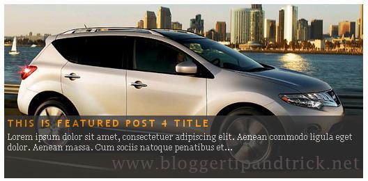 Mootools Featured-Post Auto Slider