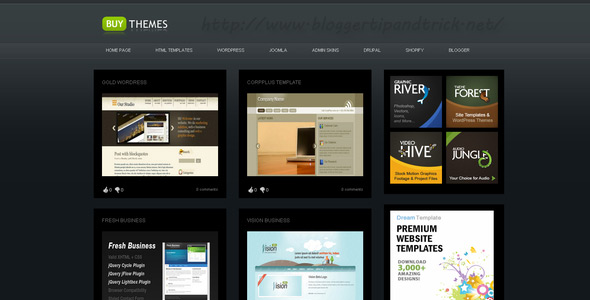 Buy Themes Premium Blogger Template