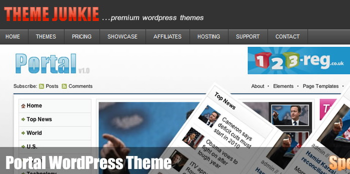 theme-junkie premium wordpress templates