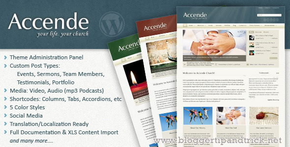 Accende Premium WordPress Template