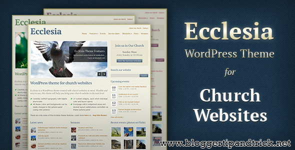 Ecclesia Premium WordPress Template