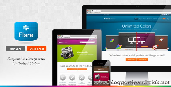 Flare Premium WordPress Template