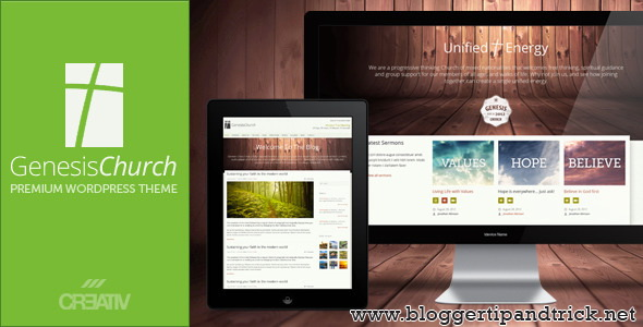 Genesis Church Premium WordPress Template