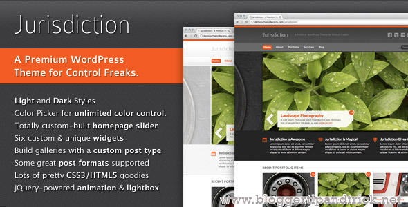 Jurisdiction Premium WordPress Template