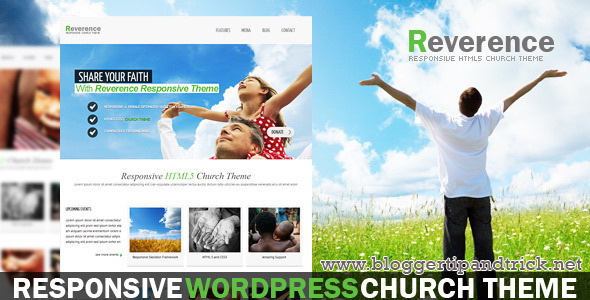 Reverence Premium WordPress Template