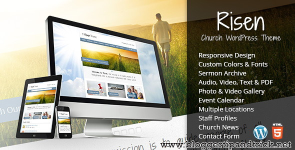 Risen Premium WordPress Template