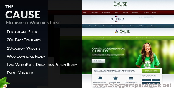 The Cause Premium WordPress Template