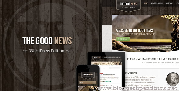 The Good News Premium WordPress Template