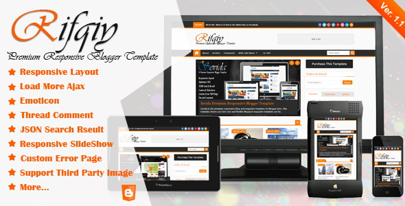 Rifqiy Blogger Template