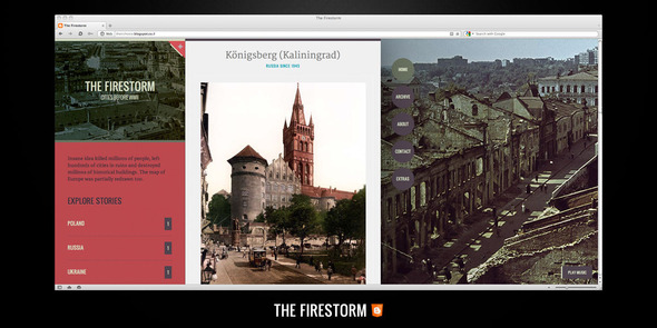 The Firestorm Blogger Template