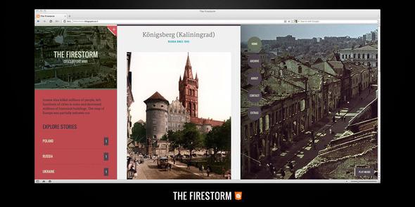 The Firestorm Blogger Template