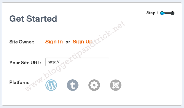 Livefyre Comments Install-Step 1