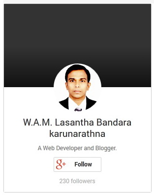 GooglePlus - Profile Badge