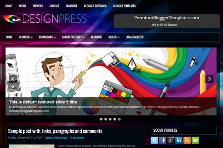 DesignPress Blogger Template