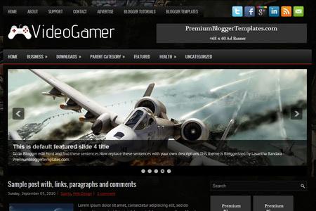 VideoGamer Blogger Template