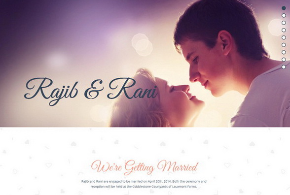 Rajib and Rani WordPress Theme