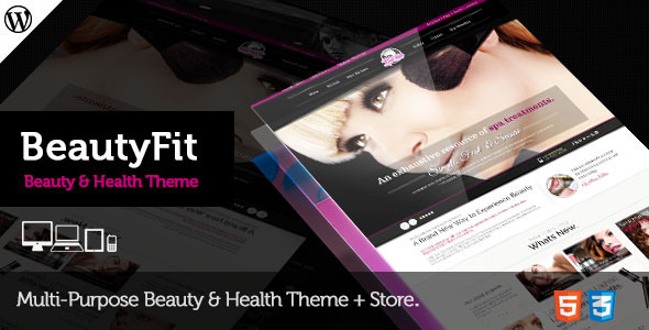 BeautyFit - Health & Beauty Multipurpose Them