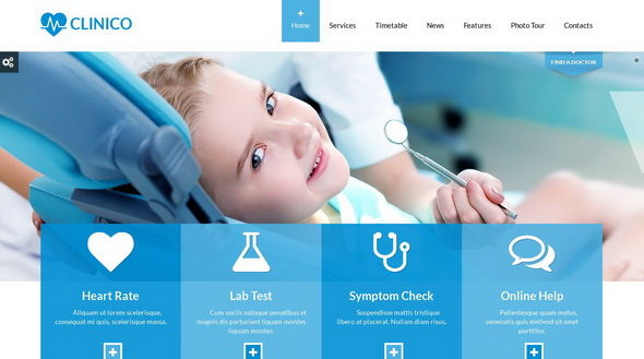 30+ best medical wordpress themes for health blogs | blogger tips, Skeleton