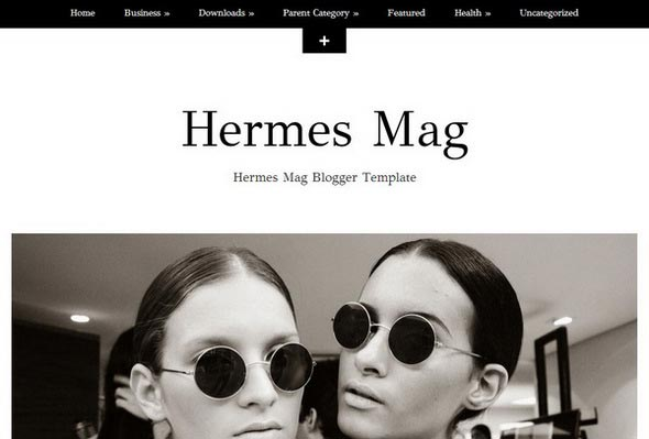 Hermes Mag Blogger Template