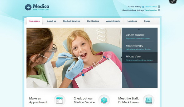Medica - Medical WordPress Theme