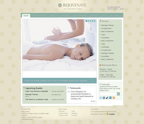 Rejuvenate Premium WordPress Theme