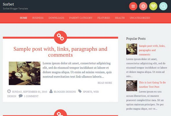 30 best free blogger templates  u2013 early 2014