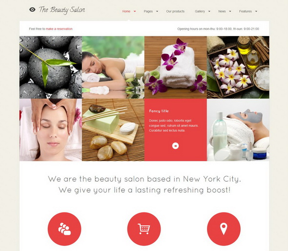 The Beauty Salon Premium WordPress