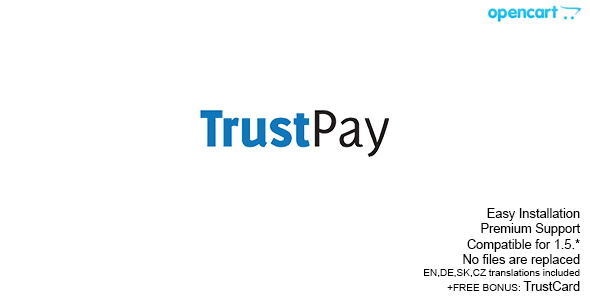 TrustPay - Opencart Plugin