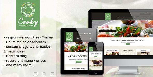 Cooky - Restaurant Responsive WordPress Theme