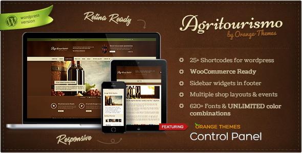 AgriTourismo - Responsive WooCommerce Theme