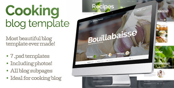 Cooking -Blog Theme