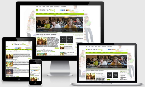 EducationMag Blogger Template