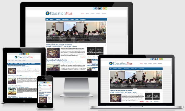 EducationPlus Blogger Template