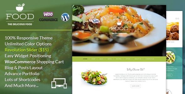 Food - A Delicious WordPress Theme