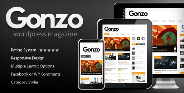 Gonzo - Responsive WordPress Magazine Theme