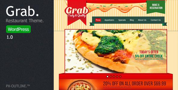 Grab - Restaurant WordPress Theme