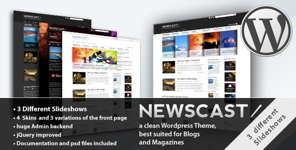 Newscast - WordPress Magazine & Blog Theme