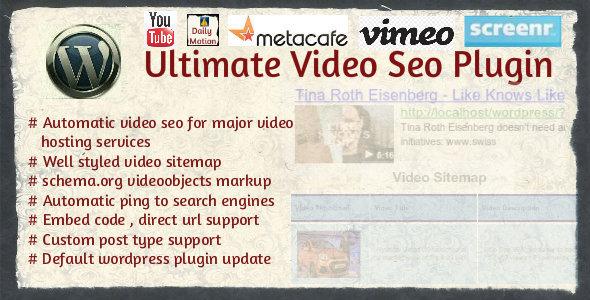 Ultimate Video SEO plugin
