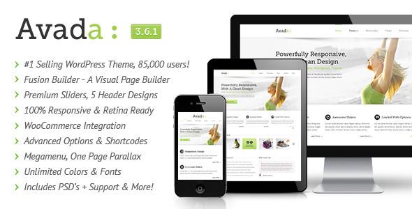Avada - Responsive Multi-Purpose WordPress Theme
