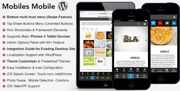 Mobiles Premium Mobile Theme