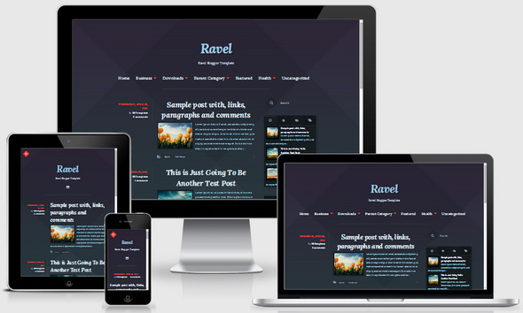 Ravel Blogger Template