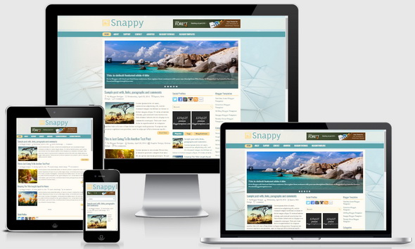 Snappy Blogger Template
