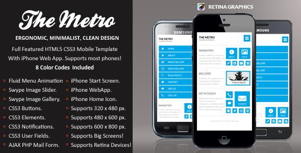 The Metro Mobile Retina