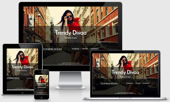 Trendy Divaa Blogger Template