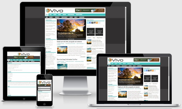 Vivo Blogger Template