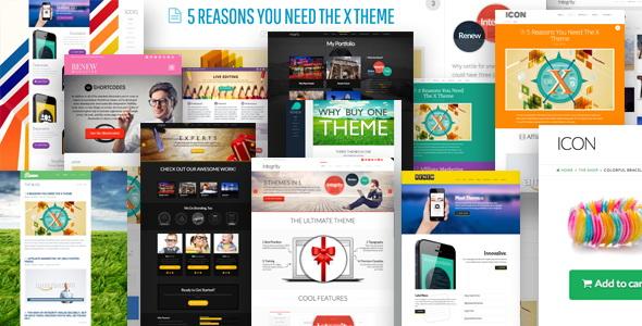 X -The WordPress Theme