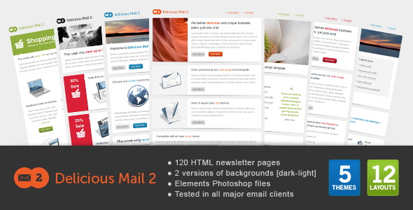 Delicious Mail 2 - Email Template