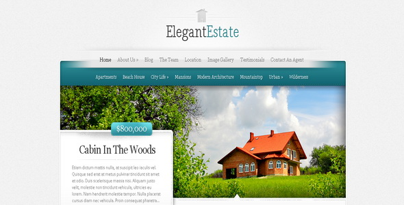 ElegantEstate - WordPress Theme