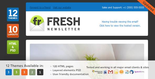 Fresh - Newsletter
